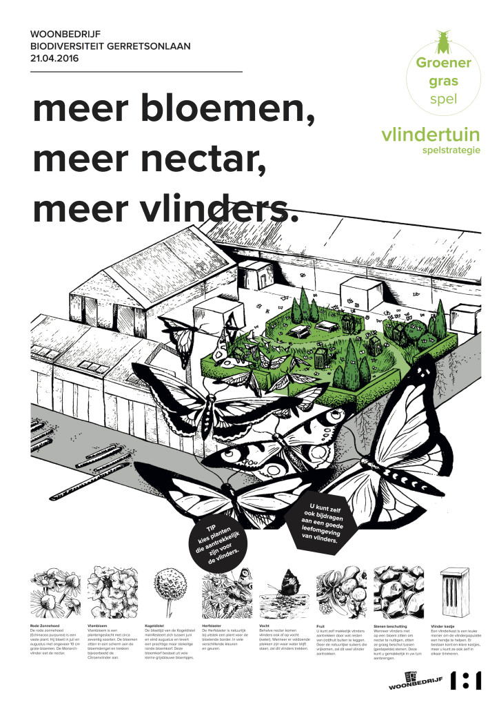 Groener Gras Spel poster
